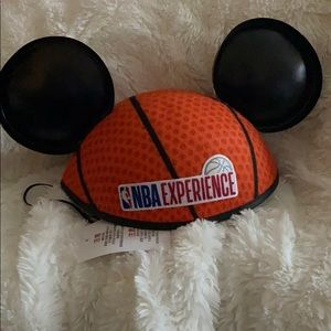 DISNEY NBA EXPERIENCE MICKY MOUSE EARS NWT
